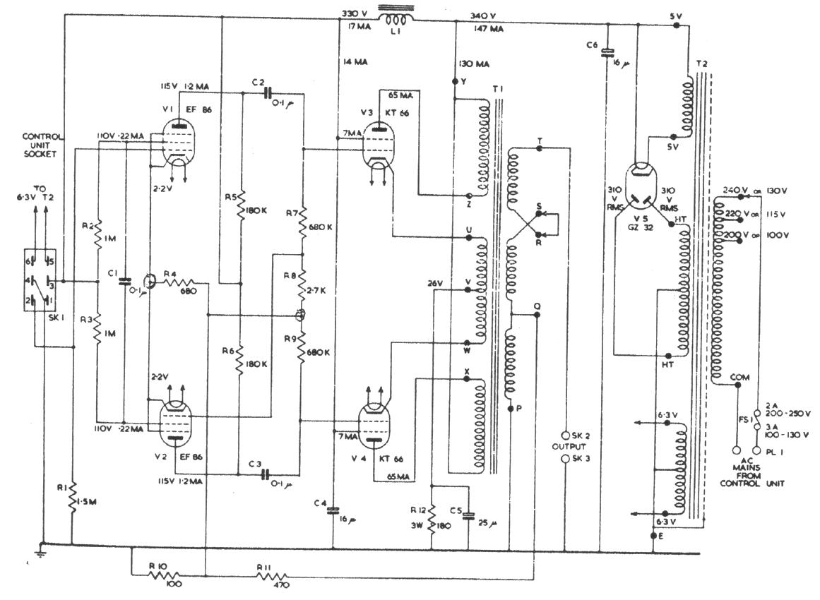 Vacuum Tube Schematic Diagram Wiring Library Tesla Coil Circuit Free Download Quad 22 Amp